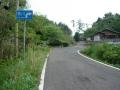 140503城山.5、ゴルフ場前のヘアピン