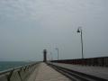 140503高松港玉藻防波堤.2、突堤の先まで進む