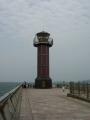 140503高松港玉藻防波堤.3、赤灯台「せとしるべ」