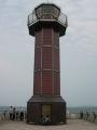 140503高松港玉藻防波堤.8、赤灯台とBianchi