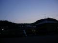 140524鞍馬街道から夜明け前の東の空