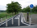 140705桂川CR_新しい嵐山側自転車道起点