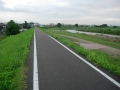140705桂川CR_道沿いの木が切られて無くなっている。