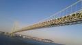 140503りつりん2.近づく明石海峡大橋