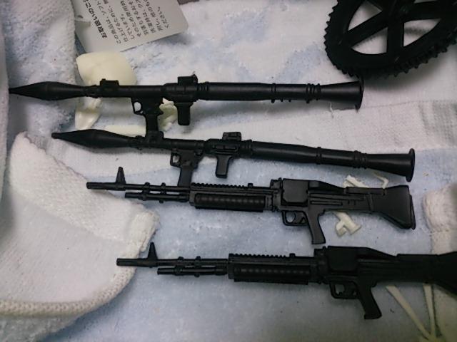 グリズリーパンダ 銃火器