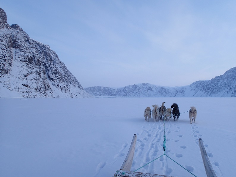 ブログ写真(Verhoeff氷河に向かって)