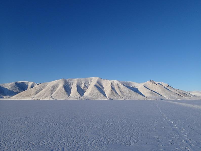 ブログ写真(氷海上を歩く1)