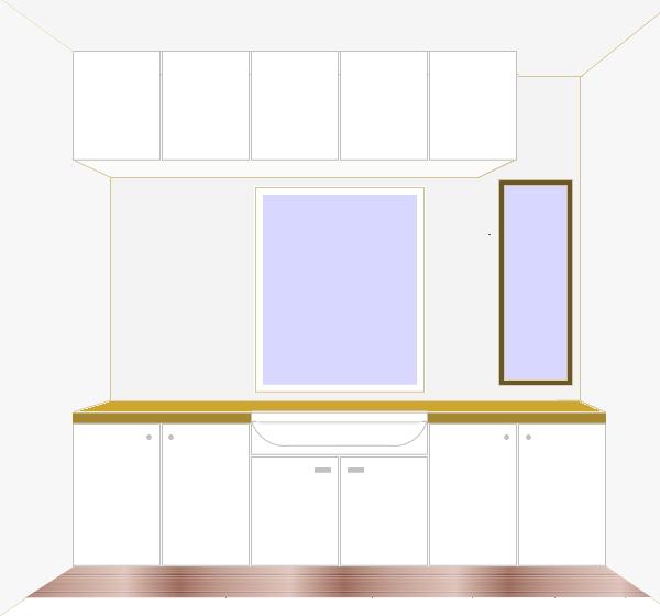 洗面所 計画 20140409