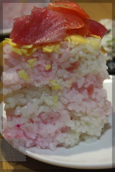 母の日 バラのケーキ寿司 20140511
