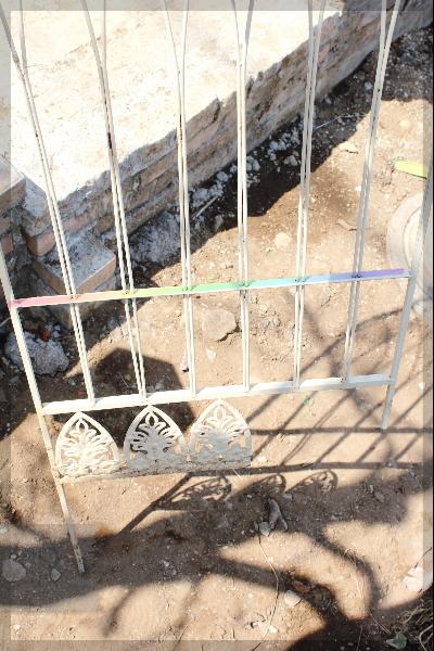 庭改造 トレリス 切断 2010325
