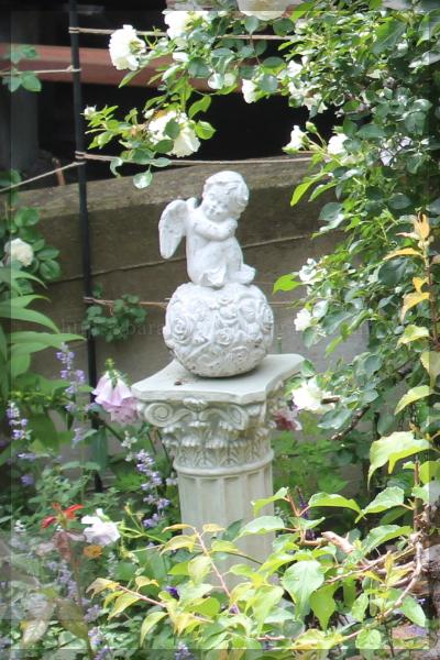 擁壁上 天使 20140528 オブジェ
