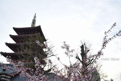 043-花と五重の塔