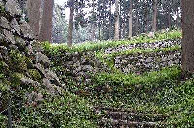 見事な石垣