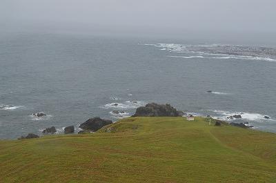 灯台から見た景色