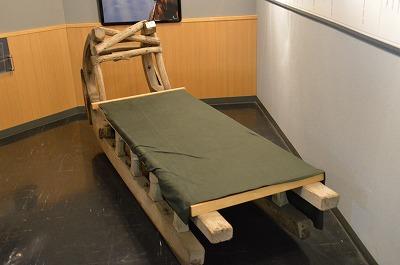 ベッドみたいな馬そり