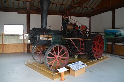 蒸気トラクター