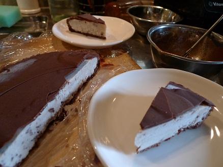 チョコチップバニラタルトチョコのせ2