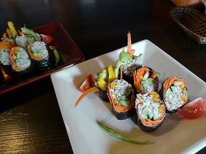 ロー巻き寿司