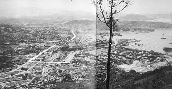 焼け野が原の市街地