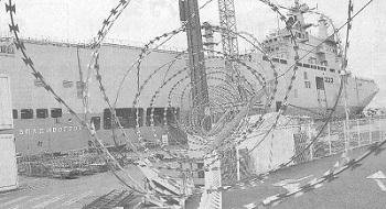 ミストラル級強襲揚陸艦「ウラジオストク」