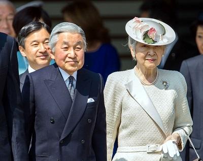 天皇と皇后