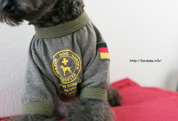 ミリタリー 犬服
