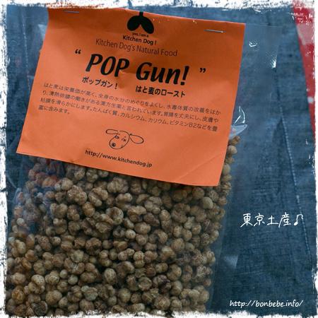 POP GUN!はと麦のロースト キッチンドッグ