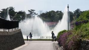 011浜松フラワーパーク噴水