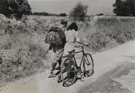 Robert Capa (1913-1954) 'Lovers' Parting near Nicosia, Sicily' July 28  1943
