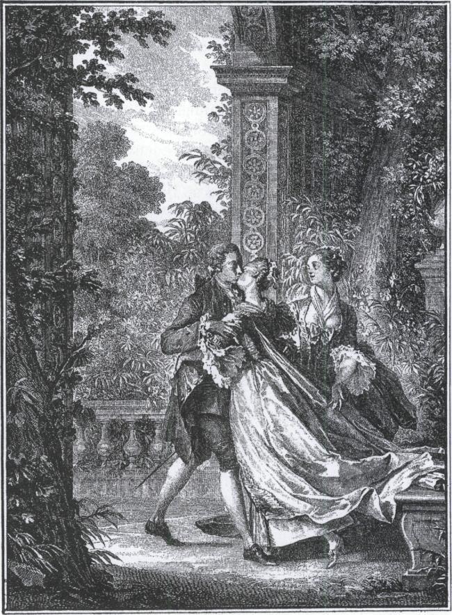 Jean-Michel Moreau, illustration till La nouvelle Héloïse 1761