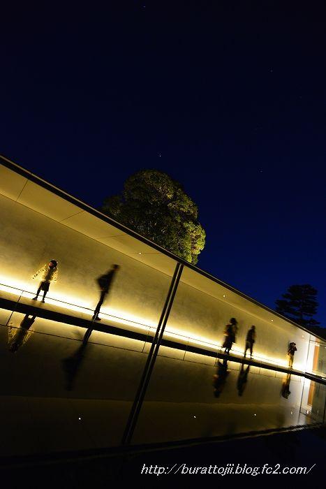 2014.03.22鈴木大拙館ライトアップ5