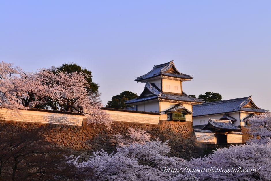 2014.04.11早朝の金沢城2