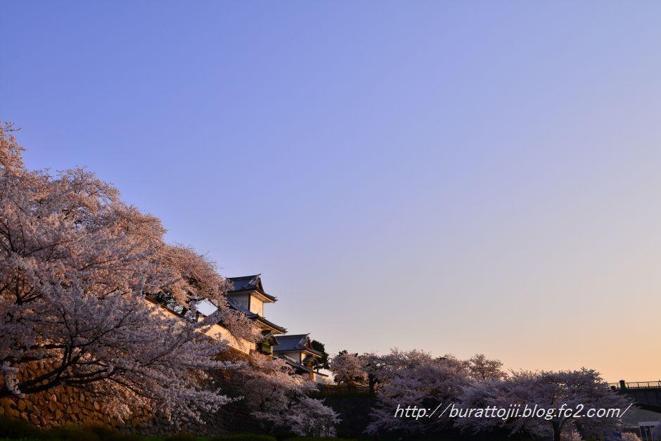 2014.04.11早朝の金沢城3