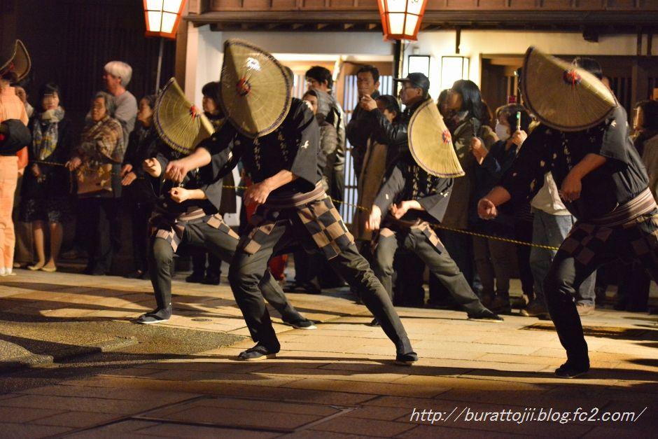 2014.04.12ひがし茶屋街おわら風の盆おどり1
