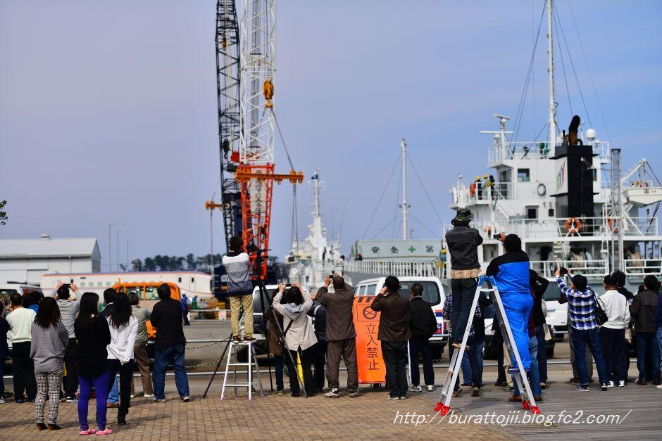 2014.04.13北陸新幹線金沢港到着2