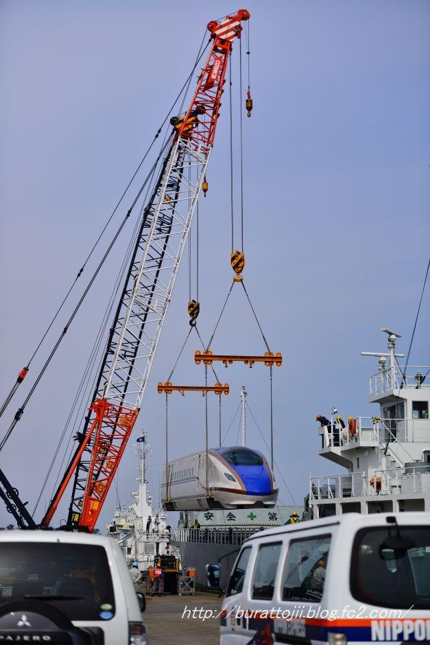 2014.04.13北陸新幹線金沢港到着1