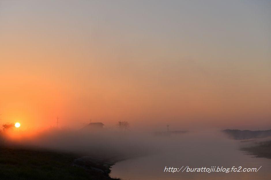 2014.04.14河北潟の日の出5