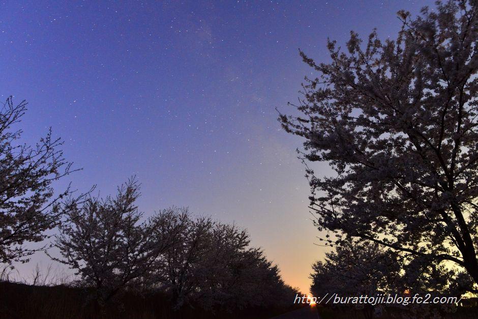 2014.04.14河北潟の日の出1