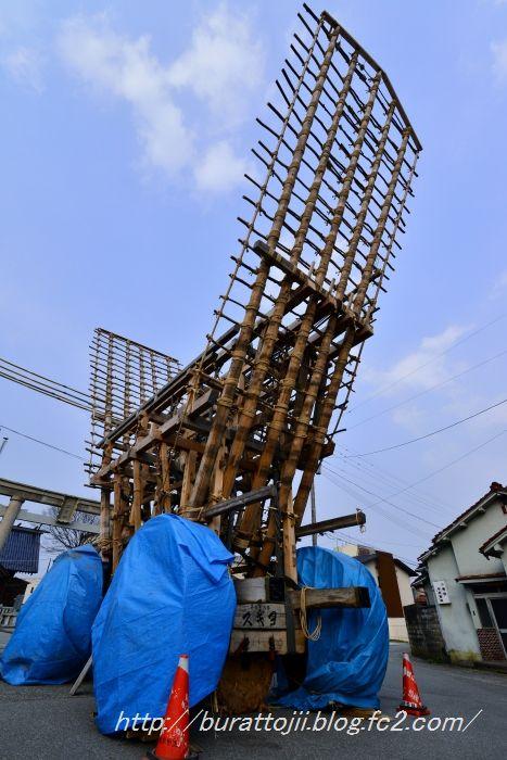 2014.04.16七尾青柏祭の屋台骨2