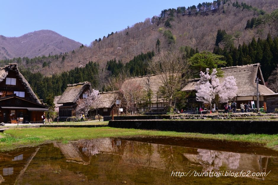 2014.04.23白川郷萩町中央付近9