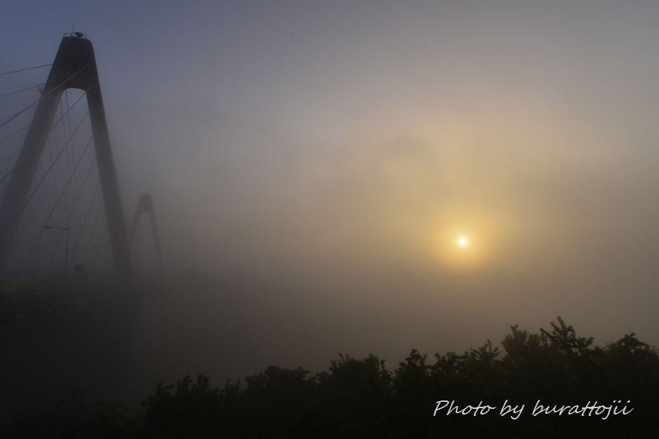2014.05.27濃霧の夜明け4