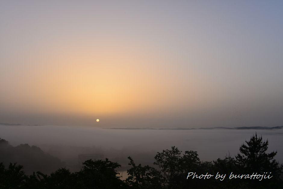 2014.05.27濃霧の夜明け2