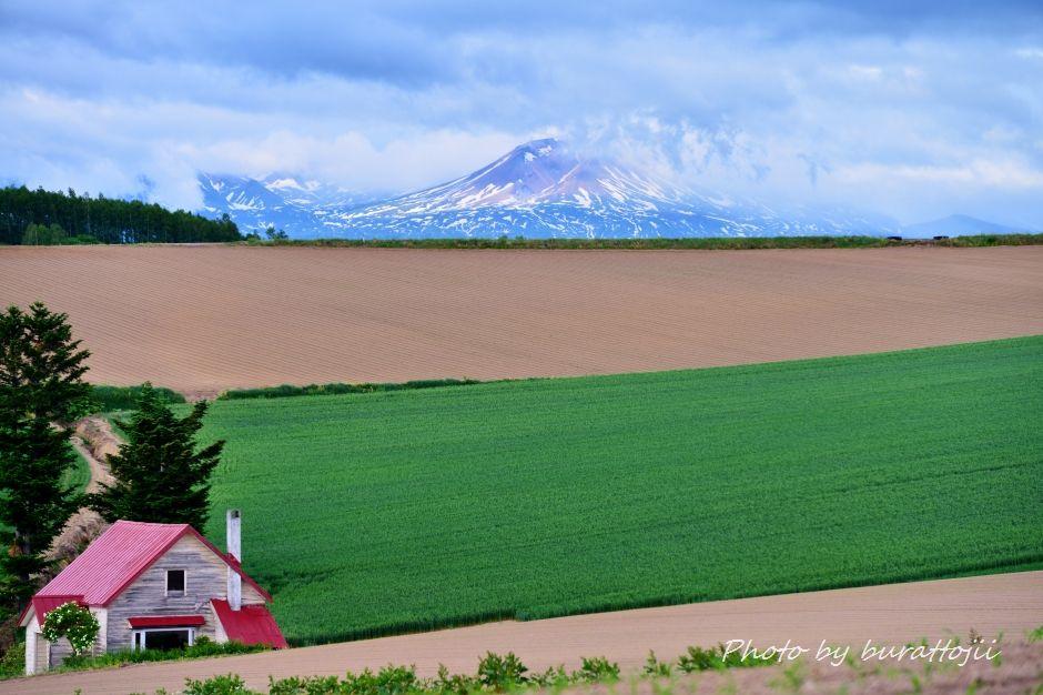 2014.06.09.17.30メルヘンの丘赤い屋根の一軒家