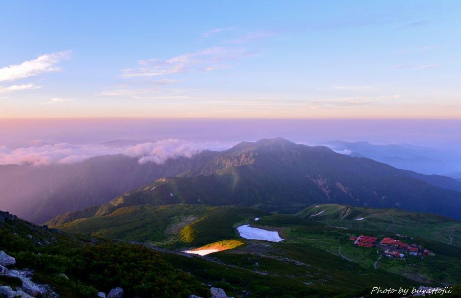 2014.07.29お池めぐりコース1別山2399mと白山室堂