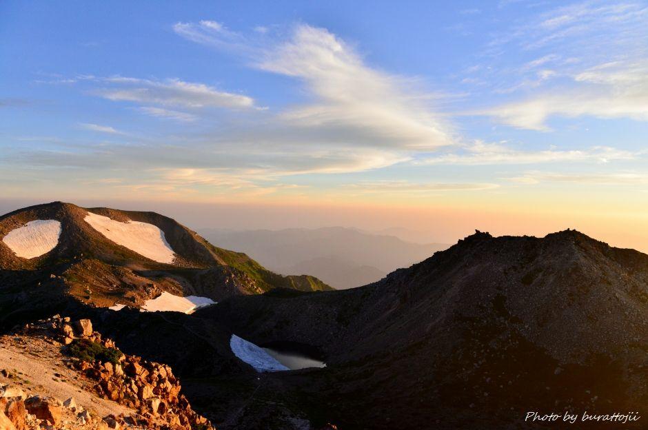 2014.07.29お池めぐりコース2大汝峰2684mと剣ヶ峰2677m