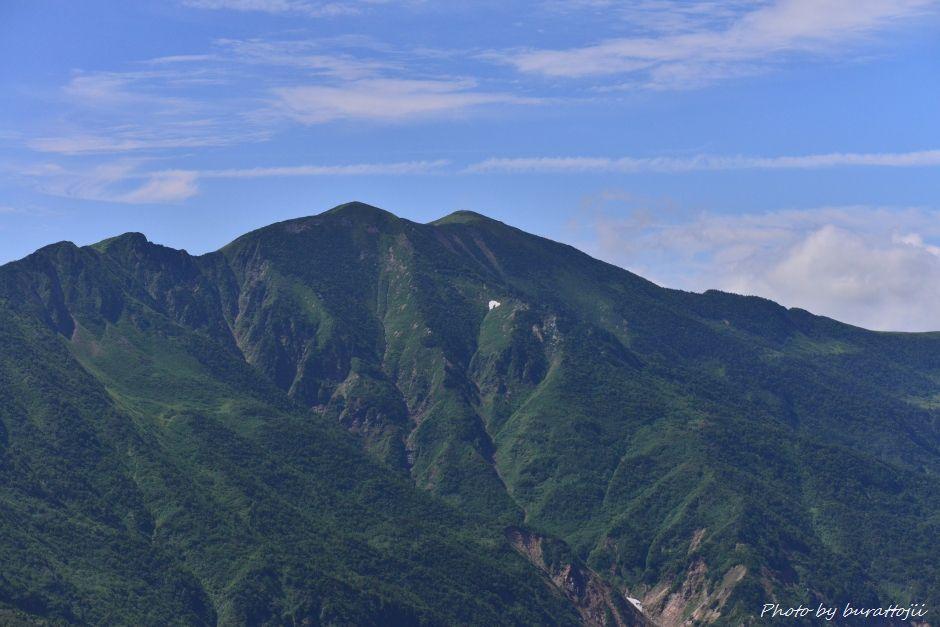 2014.07.29観光新道の花々16別山の眺望
