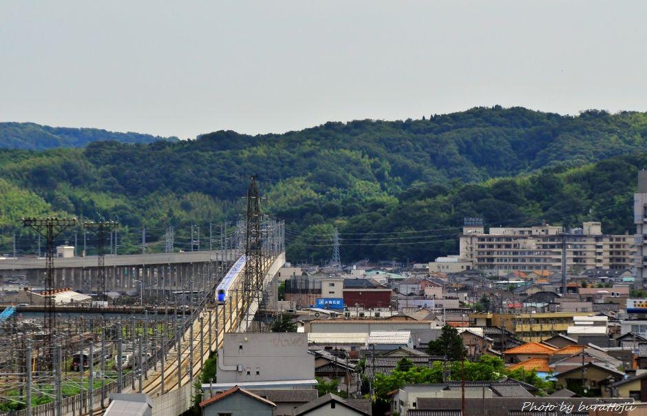 2014.08.05北陸新幹線W7系試験走行開始13