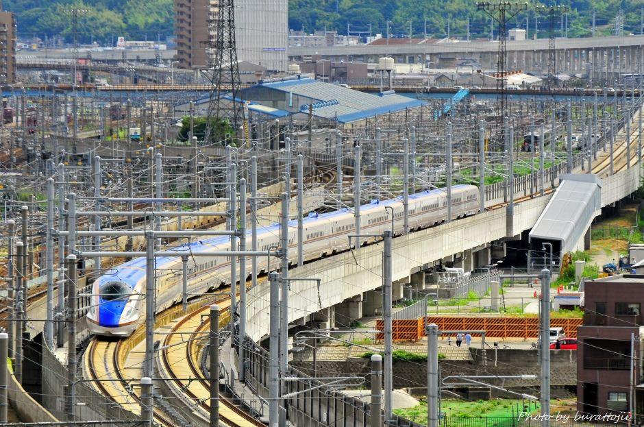 2014.08.05北陸新幹線W7系試験走行開始11