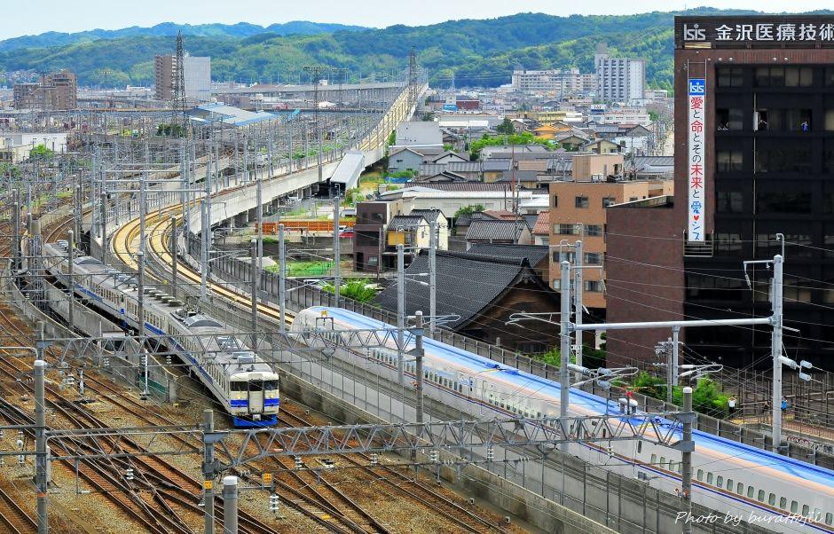 2014.08.05北陸新幹線W7系試験走行開始7
