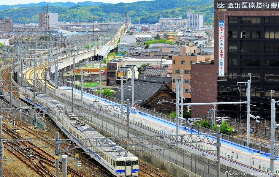2014.08.05北陸新幹線W7系試験走行開始8